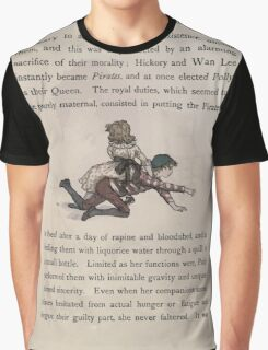 The Queen of Pirate Isle Bret Harte, Edmund Evans, Kate Greenaway 1886 0018 Riding Graphic T-Shirt