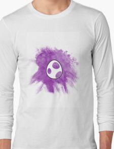 Purple Yoshi Egg Long Sleeve T-Shirt