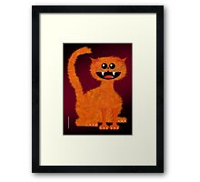 MARMALADE CAT Framed Print