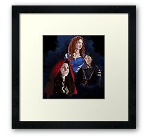 Warrior Women of Once Upon a Time Framed Print