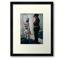 John Dunlop and Kieron Fallon Framed Print
