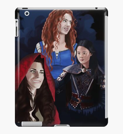 Warrior Women of Once Upon a Time iPad Case/Skin