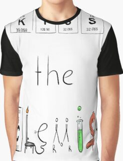 KISS the Chemist Graphic T-Shirt