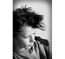 The Boy Photographic Print