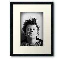 Little Hank Framed Print