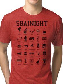SBAINIGHT SYMBOLS Tri-blend T-Shirt