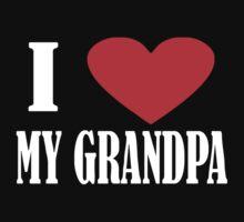 I Love My Grandpa Kids Clothes