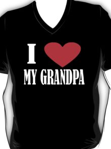 I Love My Grandpa T-Shirt