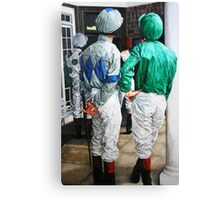 Watching the race Canvas Print