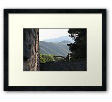 Winterberg hills Framed Print