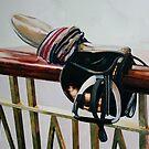 Racing Saddle by samcannonart