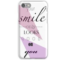 Smile you're on camera! iPhone Case/Skin