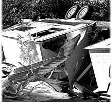 Damage from a tornado October 18 ,2007 by jammingene