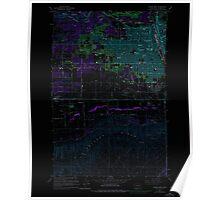 USGS Topo Map Washington State WA Yakima West 244819 1958 24000 Inverted Poster