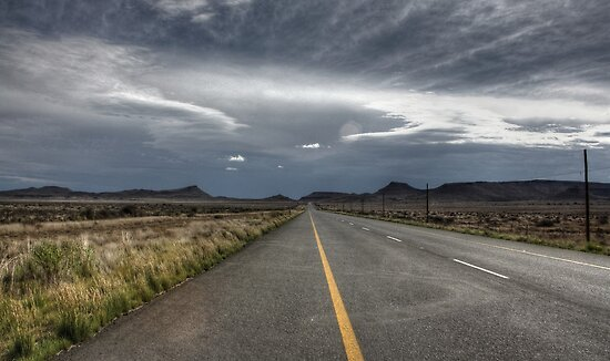 Going Nowhere Slowly - HDR by Margo Naude