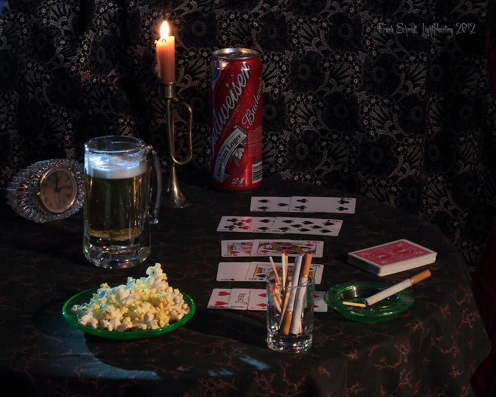 Solitaire , Beer and Popcorn by FrankSchmidt
