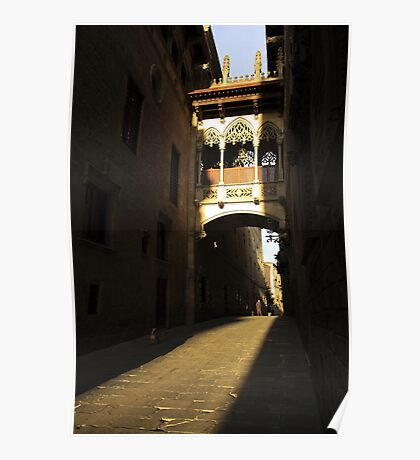 Gothic archway Poster