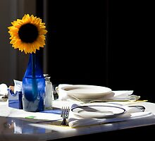Sunflower Setting by phil decocco
