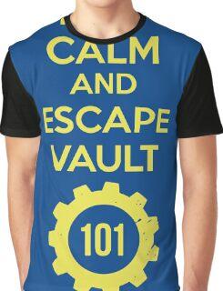 Keep Calm Vault 101 Graphic T-Shirt
