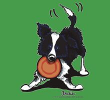 Border Collie @ Play by offleashart