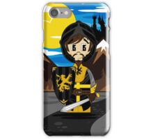Cute Medieval Crusader Knight  iPhone Case/Skin