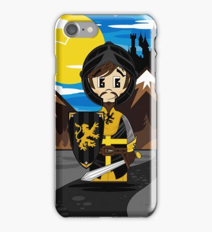 Cute Medieval Crusader Knight  iPhone Case/Skin
