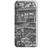 Nature: Serene Garden iPhone Case/Skin