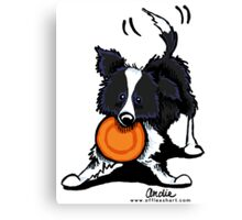 Border Collie @ Play Canvas Print