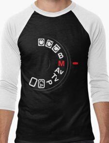 Shoot M Men's Baseball ¾ T-Shirt
