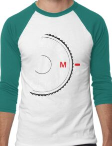 Shoot M Men's Baseball ¾ T-Shirt