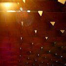 Triangles of Light by nadinecreates