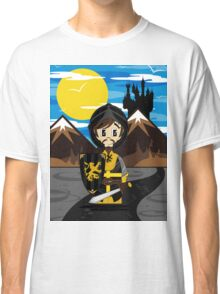 Cute Medieval Crusader Knight  Classic T-Shirt