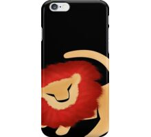 Adult Simba  iPhone Case/Skin