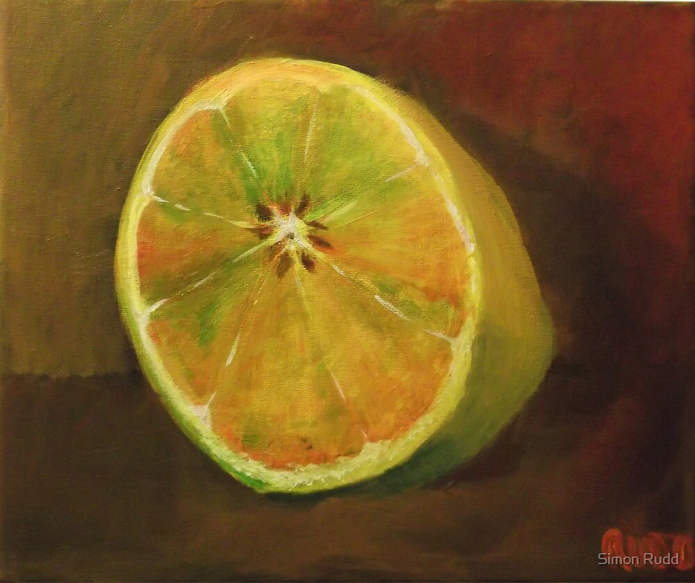 Half a lemon by Simon Rudd