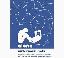 Friendship in the digital age - Facebook Unisex T-Shirt
