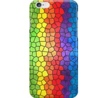 Rainbow Stained Glass iPhone Case/Skin