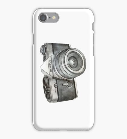 OM-1 SLR Camera iPhone Case/Skin
