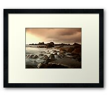 Before the storm Corbiere Framed Print