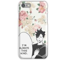 Haikyuu!! Kuroo Quote (Option 1) iPhone Case/Skin