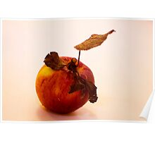 Rustic Apple Poster