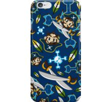 Cute Pirate Captain Pattern  iPhone Case/Skin