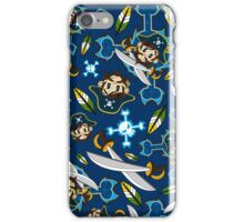 Cute Pirate Captain Pattern  iPhone Case/Skin