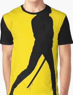 KILL BILL - Minimal Silhouette Poster Graphic T-Shirt