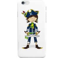Cute Little Pirate Captain iPhone Case/Skin