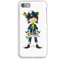 Cute Little Pirate Captain iPhone Case/Skin
