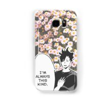 Haikyuu!! Kuroo Quote (Option 2) Samsung Galaxy Case/Skin