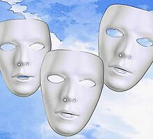 Three Masks by Abie Davis