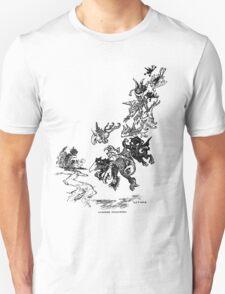 Dangers Following by g.p.jacomb 1901 T-Shirt