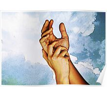 Our Hands - The Hands of Trust Poster