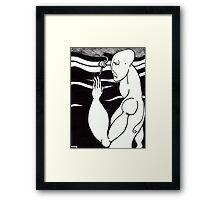 smoke Framed Print